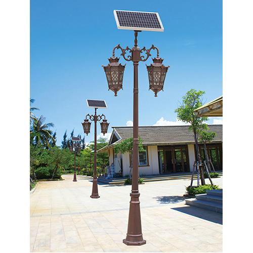 仿古太阳能庭院灯