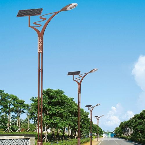 led景观太阳能路灯